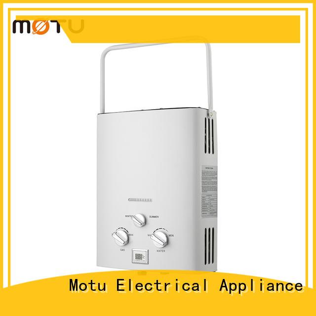 Motu best camping shower water heater factory for bath