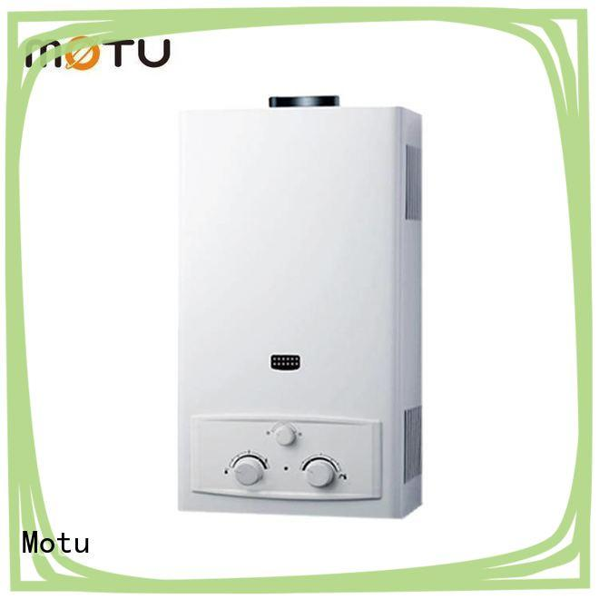 Motu tankless gas water heater company for family