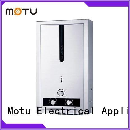 Motu top gas tankless hot water heater supply for office