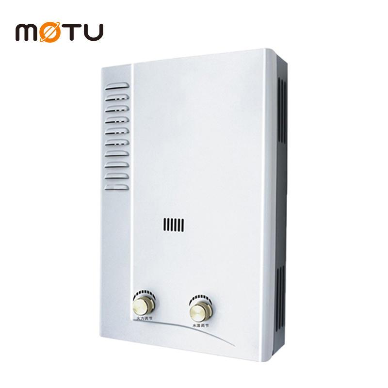 Gas water heater low pressure