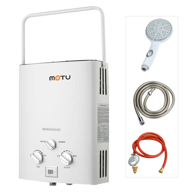 Gas Water Heater Camping